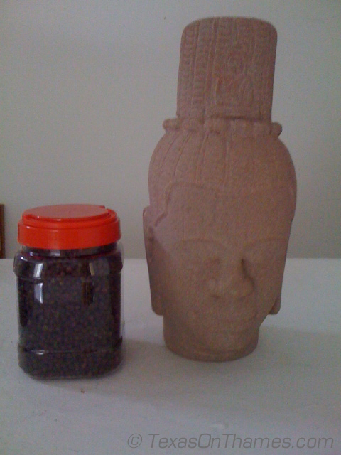 I bet none of the other girls get a jar of pepper and a stone head.