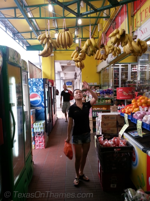 local shopping for bananas