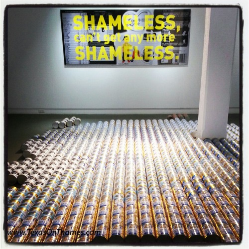 Ai Wei Wei's Baby Formula at the Michael Janssen gallery