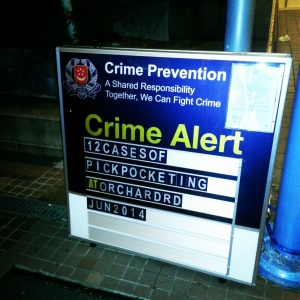 Singapore low crime rate