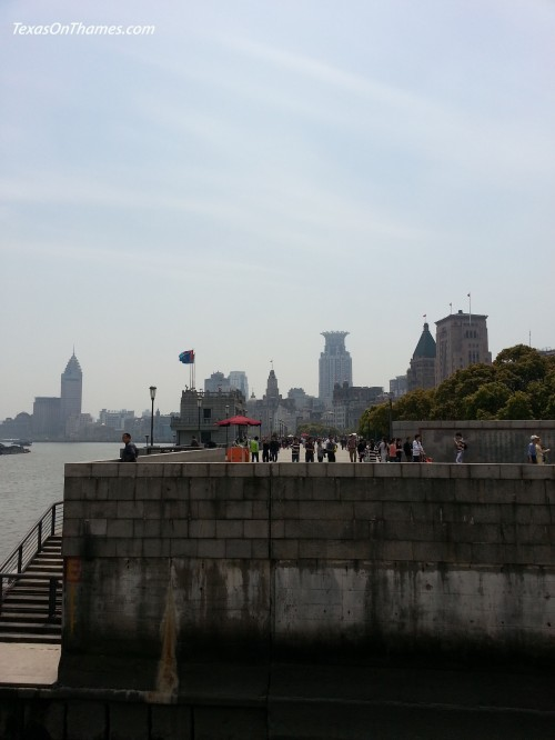 Still along the Bund.