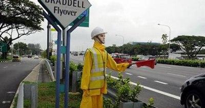 police dummy Singapore